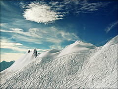 White fields.......Hope your holiday season is fun and festive..:))) (Katarina 2353) Tags: christmas trip travel blue winter light wallpaper vacation sky cloud white holiday snow ski mountains alps art film nature beautiful clouds analog landscape photography switzerland photo high nikon day waves view place suisse outdoor swiss fine large traces trails paisaje panoramic valley resolution paysage verbier 2013 katarinastefanovic katarina2353 gettylicense