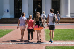 A new generation of voters (Steve Crane) Tags: street people woman man students girl southafrica hall women voting registration stellenbosch boland westerncape refujification