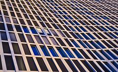Tour Total Berlin (tom_stromer) Tags: blue windows berlin window glass architecture germany deutschland tour fenster architektur blau total glas fassade