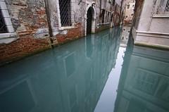 high tide (fiddleoak) Tags: door blue venice green water nose sinking zev bluegreen hightide fiddleoak