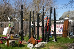 Detroit Industrial Gallery (jwbeatty) Tags: streetart art outsiderart detroit installationart heidelbergproject publicartinstallation