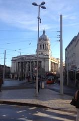 Main square in Nottingham
