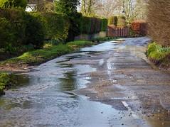 Aston Rowant, Oxfordshire (Oxfordshire Churches) Tags: uk england flooding unitedkingdom panasonic oxfordshire floods mft astonrowant ©johnward micro43 microfourthirds lumixgh3 flooding2014