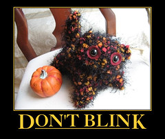 automotivator (13) (lys.dexic) Tags: black pumpkin mine fuzzy yarn demotivator captioned wigflip