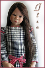 Ilsa (Annette Himstedt 2007) (MiriamBJDolls) Tags: doll vinyl limitededition 2007 ilsa annettehimstedt himstedtkinder