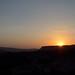 sunset in Axum