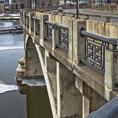 Bridge Over the Mississippi — Color (Van Allen Belt) Tags: bridge pen river mississippi lumix minneapolis olympus falls panasonic 20mm 3rdavenue ep2 stanthony centralavenue saintanthony