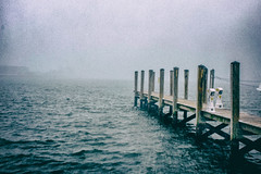 Annapolis, Maryland (Bio-lament) Tags: old mist docks retro
