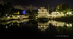 Magic Kingdom (wdwSteve) Tags: night reflections nikon magic kingdom disneyworld riverboat d7000 sigma1750mmf28
