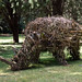Art in the park: the Rhino