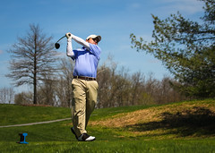 Got all of it (theqspeaks) Tags: sport creek canon golf drive md action whiskey swing follow course golfing april lefty through tee 70200 frederick canon70200f4l 2014 backswing ijamsville f4l 60d canonef70200mmf4lisusm whiskeycreekgolfclub herndonbrownclassic
