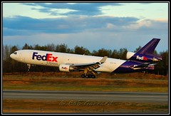 N601FE FedEx - Federal Express 'JIim Riedmeyer' (Bob Garrard) Tags: express douglas fedex anc federal md11 mcdonnell panc n601fe
