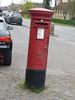 HP18 203 - Waddesdon PO, High Street 140411 (maljoe) Tags: postbox royalmail eiir hp18