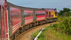 67022 on Fife Circle at Thornton Jnct (37001) Tags: edinburgh stock rail railway virgin locomotive dbs glenrothes 67022 mk2d thorntonjunction fifecircle 2g13 2k14
