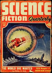 Science Fiction Quarterly Vol. 2, No. 3 (May, 1953).  Cover by Milton Luros