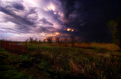 Something Wicked (Kansas Poetry (Patrick)) Tags: storm wetlands kansas thunderstorm stormclouds lawrencekansas bakerwetlands patrickemerson patricklovesnancy