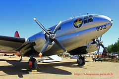 Curtiss C 46D Commando n° 33415 ~ 468019 (Aero.passion DBC-1) Tags: usa heritage museum aircraft aviation air joe musée preserved usaf palmdale davies avion commando curtiss c46 airpark aeropassion dbc1 préservé