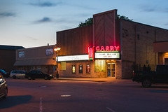 Garry Theatre (bryanscott) Tags: canada building sign architecture typography manitoba signage type selkirk