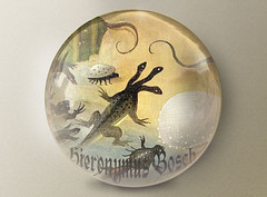 Bosch (vidalia_11) Tags: sphere hieronymusbosch gardenofearthlydelights paintingdetail filterforge bubblefilter