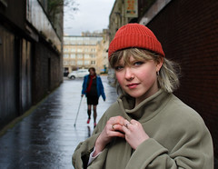 Ailish (Charles Hamilton Photography) Tags: streetportrait glasgowstreetphotography portrait people urban characterstudy primelens nikond7000 35mm trongate stranger colourstreetportrait citycentre naturallight