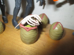Alien Egg Pods and Ripley - Aliens 2156 (Brechtbug) Tags: alien egg pods ripley aliens scifi science fiction tv television show creature monster action figure toy toys space galaxy universe funko prometheus engineer figures series 1 ridley scott film movie xenomorphs like 2017 reaction original super7 retro active kenner type kane designed canceled for 1979 face hugger chest burster xenomorph facehugger chestburster helmet