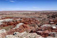 The Painted Desert (erichudson78) Tags: usa arizona painteddesert paysage landscape sky ciel blue bleu canoneos6d canonef24105mmf4lisusm desert nature rock rocher horizon