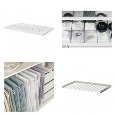 Pants Hangers & Pull-Out Divider Tray (Heath & the B.L.T. boys) Tags: ikea closet storage tray organize