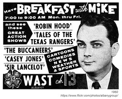 1960 wast breakfast with mike channel 13 (albany group archive) Tags: albany ny 1960 wast breakfast with mike channel 13 1960s old vintage photos photo photograph history historic historical