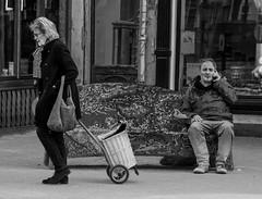 Time Passing [Explored] (Peter Branger) Tags: activeassignmentweekly timepassing thehague netherlands streetphotography blackwhite canoneos7dmarkii canonef24105mmf4lisusm bestofweek2 bestofweek3