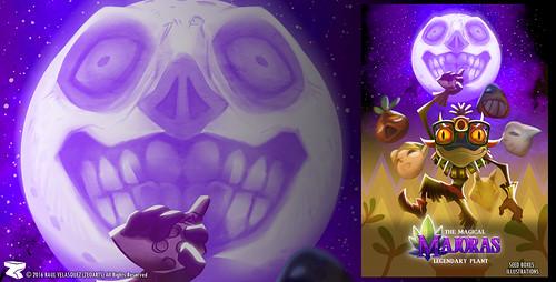 Character designer - ilustration 39 | Zelda Majoras Mask |  skull kid