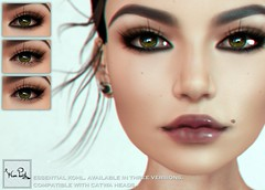 WarPaint* @ Anybody - Essential Kohl (Mafalda Hienrichs) Tags: warpaint war paint anybody catwa applier makeup secondlife bento kohl pencil liner