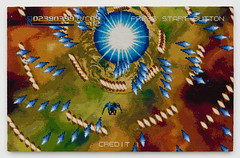 Radiant Silvergun (2013) (perfhager) Tags: perfhager steneprojects contemporaryart gaming craft needlepoint embroidery handmade 刺繍 ゲーム 美術 現代美術 クラフト ハンドメイド アート