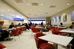 Dining space (A. Wee) Tags: deltaairlines 达美航空 skyclub airport lounge 机场 lax losangeles 洛杉矶 california 加州 usa america 美国