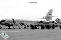 Tripoli (405) (Baset Alghomari) Tags: caravelle sudaviationcaravelle aircraft libya raf civilianaircraft