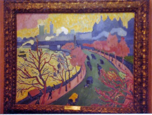 André Derain: painting of London