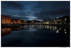 Albert Dock 5 (Brian Gort Wildlife Photography) Tags: city light sunset reflection water liverpool reflections lights twilight dock waterfront albert ngc reflect merseyside