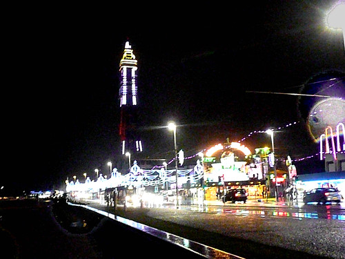 Blackpool - Tower with lights