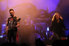 Lzzy Hale with Bullet For My Valentine (shak74) Tags: show music rock metal for drive concert tour live duet hard valentine bullet hale halestorm lzzy 2013