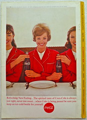 1963 - 1960s Vintage Coca Cola Advertisement From National Geographic Back Page 32 (Christian Montone) Tags: vintage ads advertising coke americana soda cocacola advertisements sodapop vintageads vintageadvert