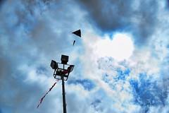 The Kite in the Prison (dersimozel) Tags: world light cloud sun white kite eye clouds turkey see fly flying nikon waiting natural tail trkiye prison wait tamron topaz