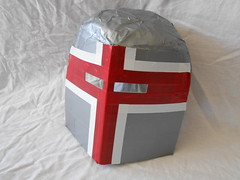 Duct Tape Crusader Great Helm (Sir Erathor) Tags: duct helmet tape crusader