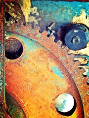 Rust I (Zachary Russell) Tags: old rust rusty tools dirty workshop rusted machines