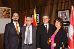 LSP Macedonian President (215) (Bruce MacRae) Tags: centre ottawa president arts macedonia reception national fraser lois macrae highlanders 78th siegel ivanov gjorge