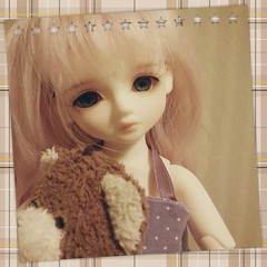 From my instagram ~ (Momonyan) Tags: kid hdf elin bjd luts lonnie abjd bid pitta naias yosd iplehouse flickrandroidapp:filter=none