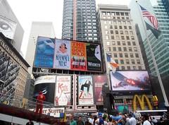 Times Square (MJ_100) Tags: street city nyc urban usa newyork america buildings us manhattan broadway landmark tourists timessquare 7thavenue