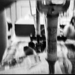 lomography - abstract bike