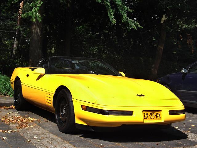 chevrolet convertible chevy corvette c4