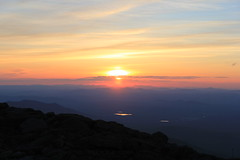 Sunset 6/20/13 (rightthewrong) Tags: new sunset white mountains june washington mt peak nh hampshire presidential mount observatory summit range obs mwo presidentials 2013