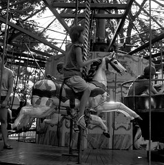 Fete Paradiso, Governors Island (upsidedowndollnoise) Tags: old nyc carnival horse newyork game vintage french ride antique carousel amusementpark governorsisland carnivalride amusementride feteparadiso