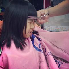 ดูหน้าตอนตัดม้า เกร็งสุดฤทธิ์ #hair #cut